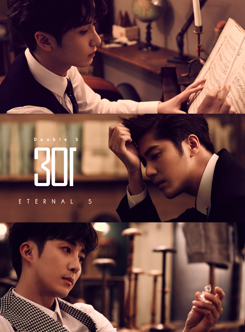 [Pre] SS301 (Double S 301) : 1st Mini Album - Eternal 5