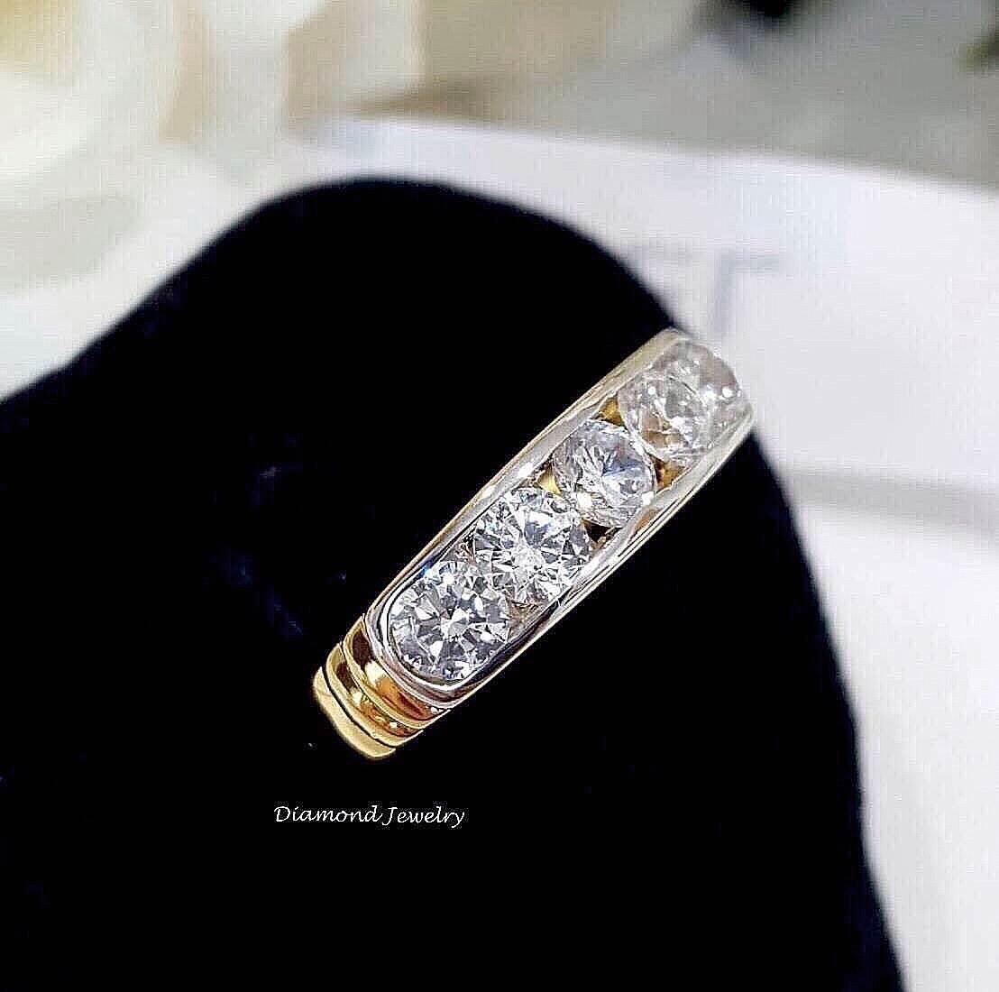 พร้อมส่ง Diamond Ring งานเพชรสวิส