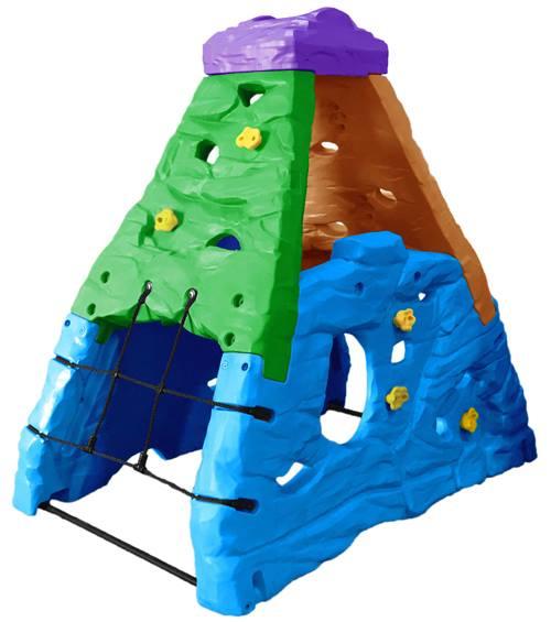 ปีนป่ายเขาหินจำลอง (สีธรรมดา/สีสดใส) SIZE:132X199X208 cm.