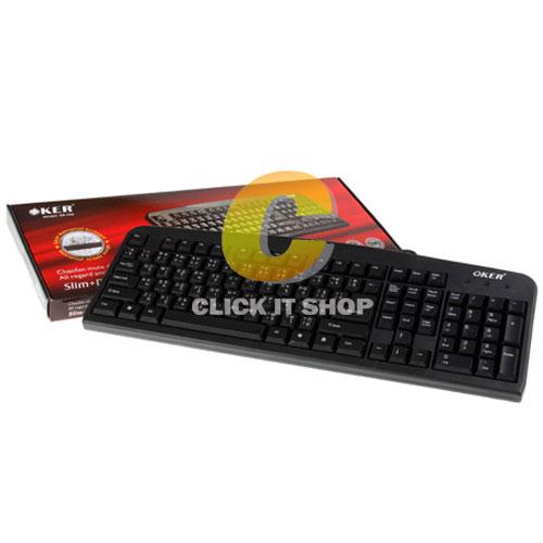 Keyboard PS2 OKER KB-366