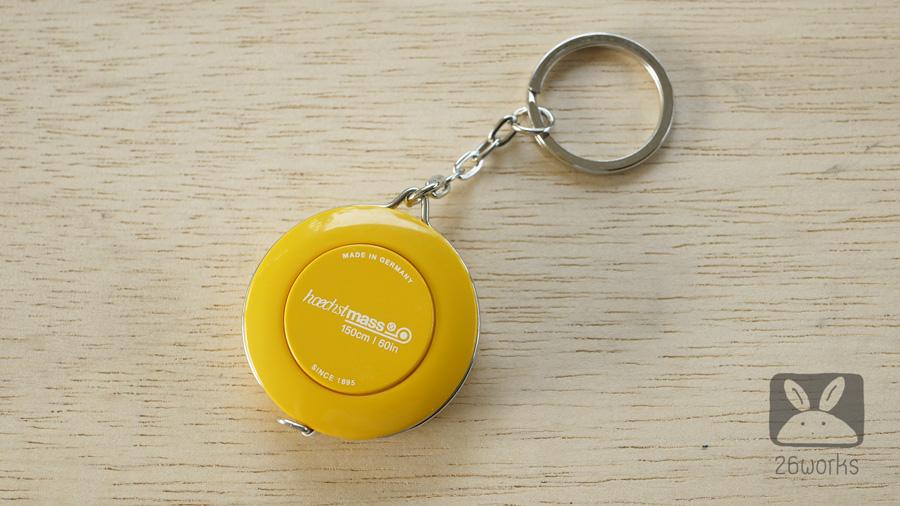 สายวัดตลับ สีเหลือง 150 cm/60 inch