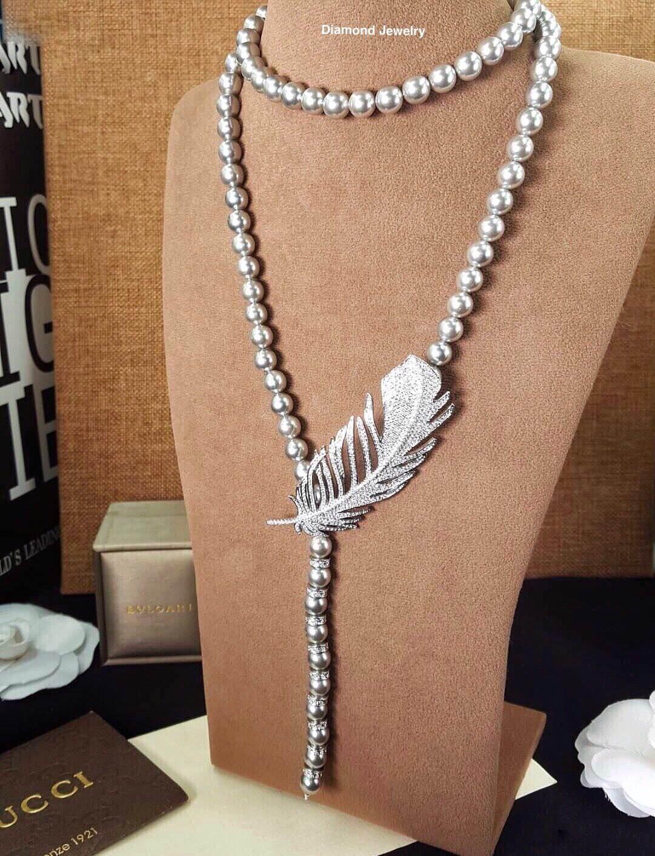 พร้อมส่ง Pearl Necklace สร้อยมุก