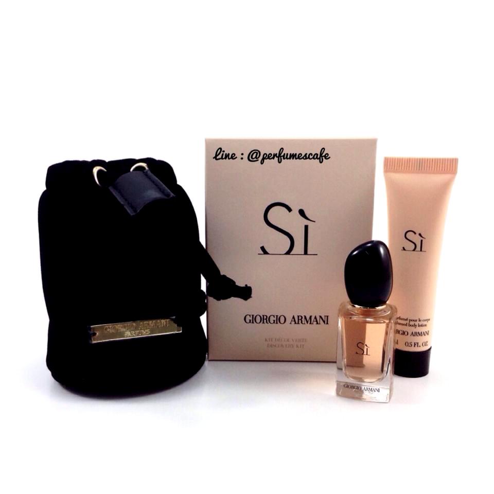 Mini Gift Set Giorgio Armani Si edp for women