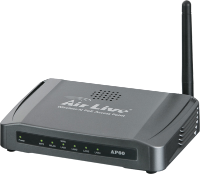 AirLive AP60 : Wireless-N 150Mbps PoE Access Point