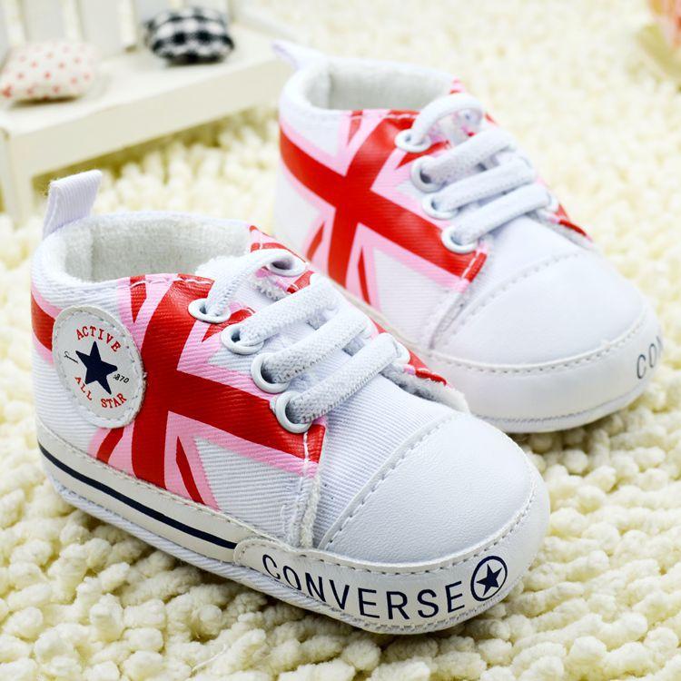 Converse baby Pre-walker Baby Shoes รองเท้าเด็ก รองเท้าเด็กชายวัยหัดเดิน ยี่ห้อ Converse baby