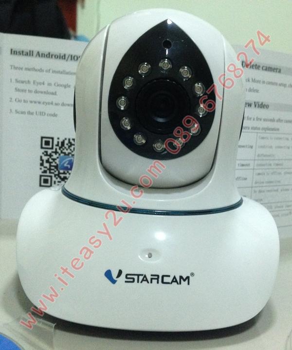 VStarcam รุ่น T7838WIP ฺFont