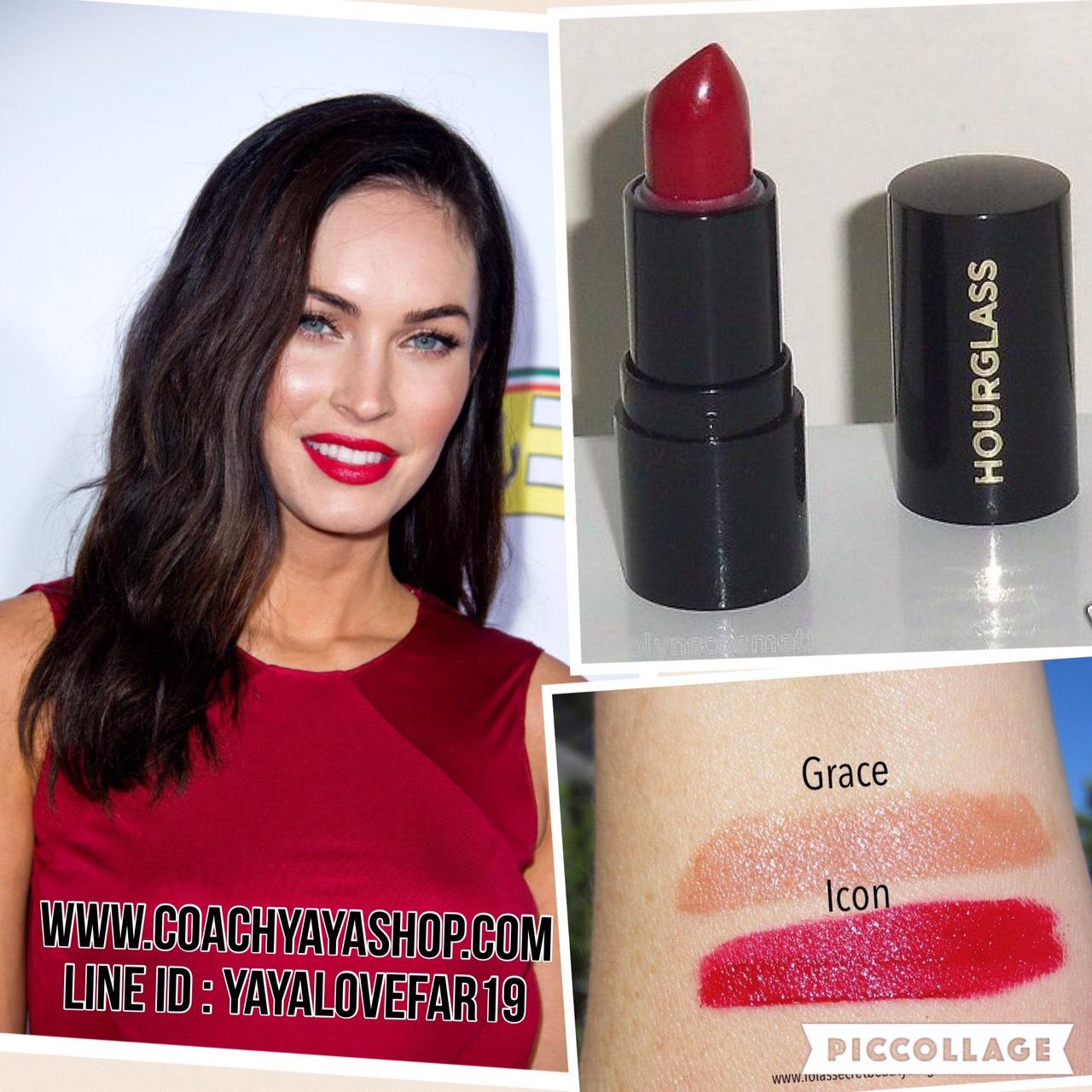 พร้อมส่ง + ลด 50% Hourglass Femme Rouge Velvet Creme Lipstick 1g. สี Icon