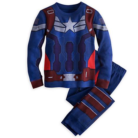 z Captain America Deluxe PJ Pal for Boys
