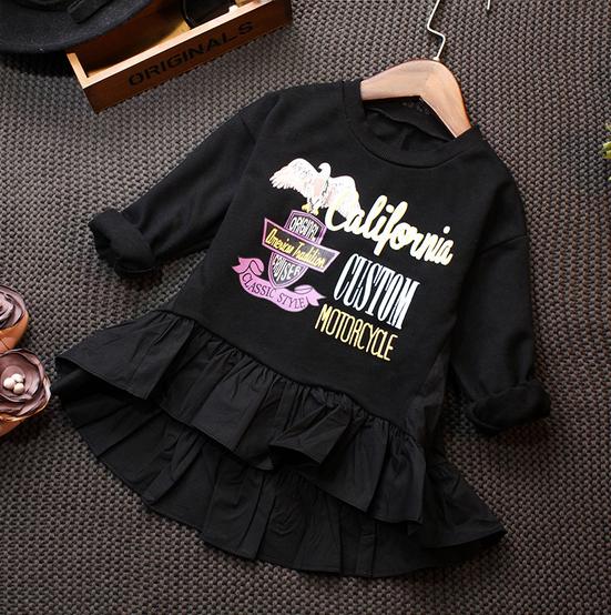 เสื้อผ้าแฟชั่นเด็ก เสื้อเด็กสีดำ