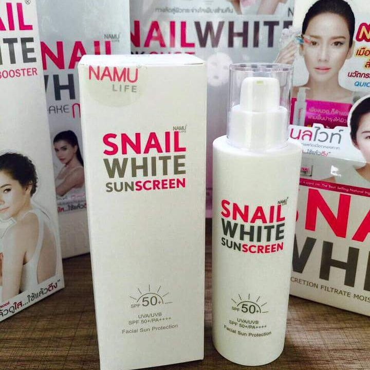SNAIL WHITE SUNSCREEN
