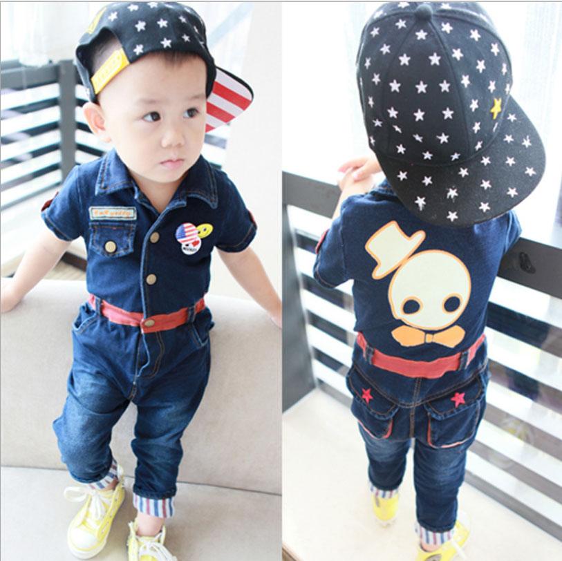 BabyCityชุดยีนส์ผ้ายืดเกาหลี