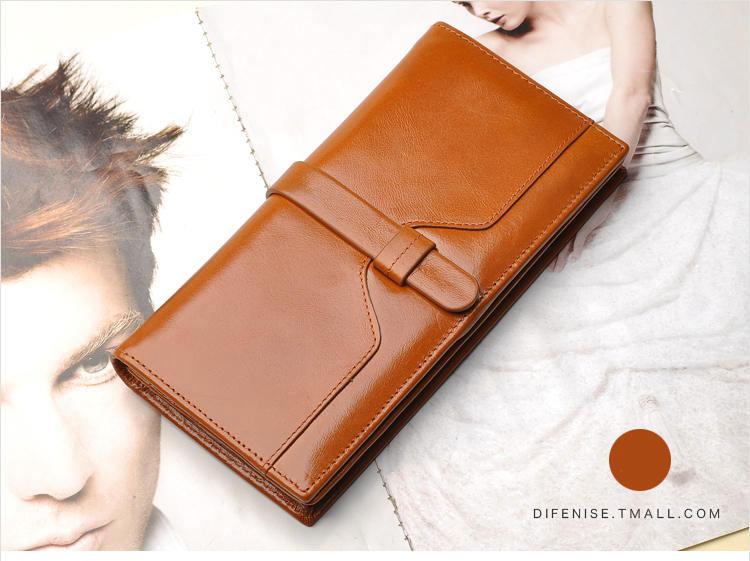 กระเป๋าสตางค์ผู้หญิง Difenise No.1 (หนังแท้)