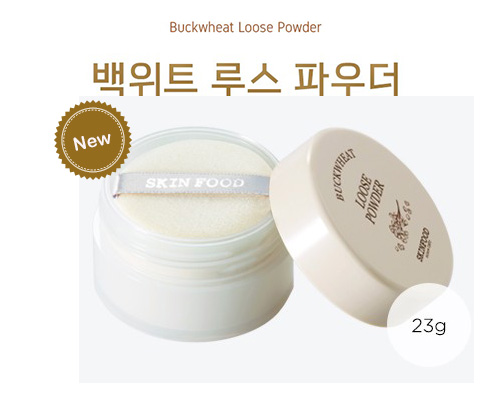 Skinfood Buckwheat Loose Powder #10 Transparent สีโปร่งแสง ใช้ได่ทุกสีผิว