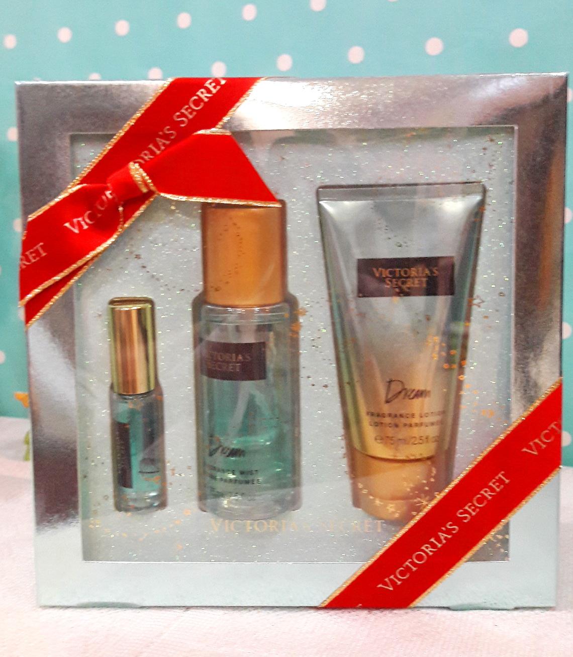 Victoria's Secret Gift Set 3 ชิ้น กลิ่น Aquar Kiss