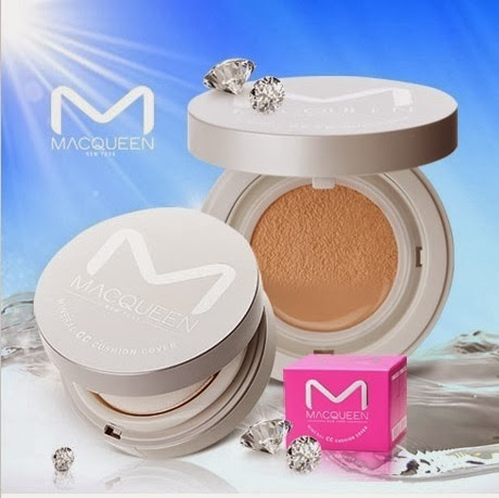 Macqueen Mineral CC Cushion Cover SPF 50++ no. 21