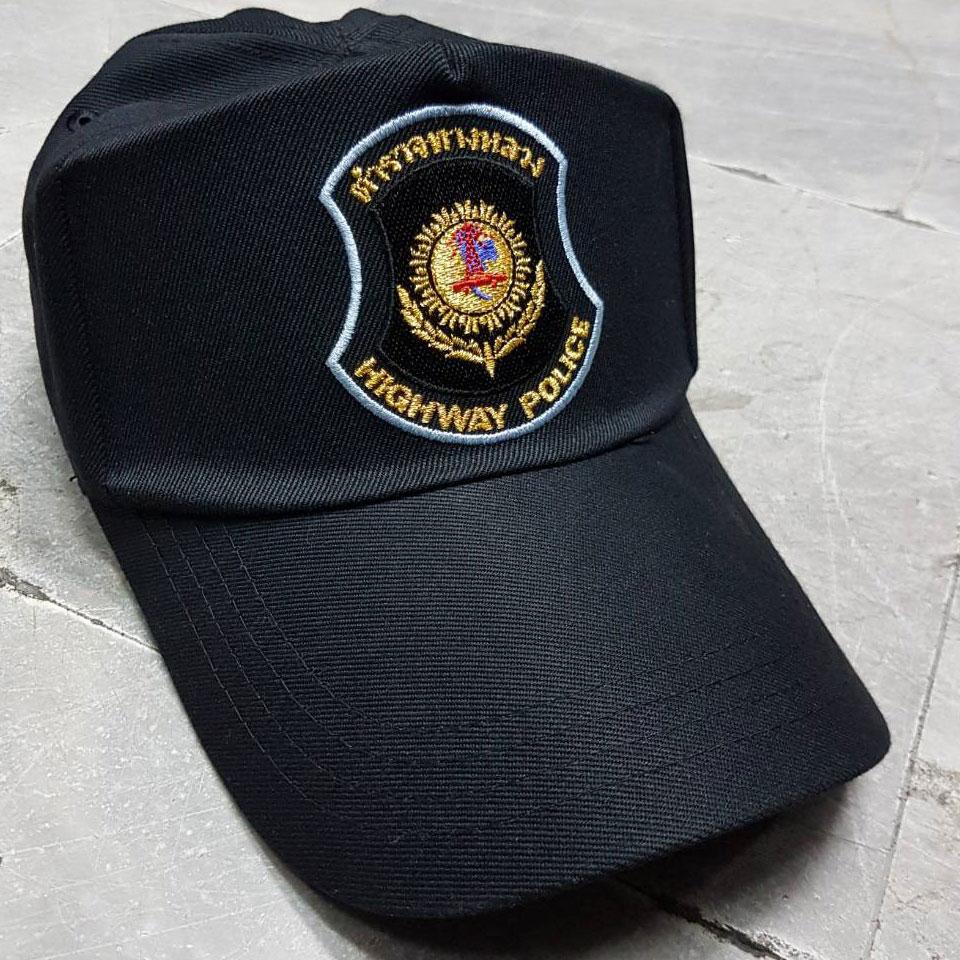 หมวกแก็ปซิปหลัง Highway Police