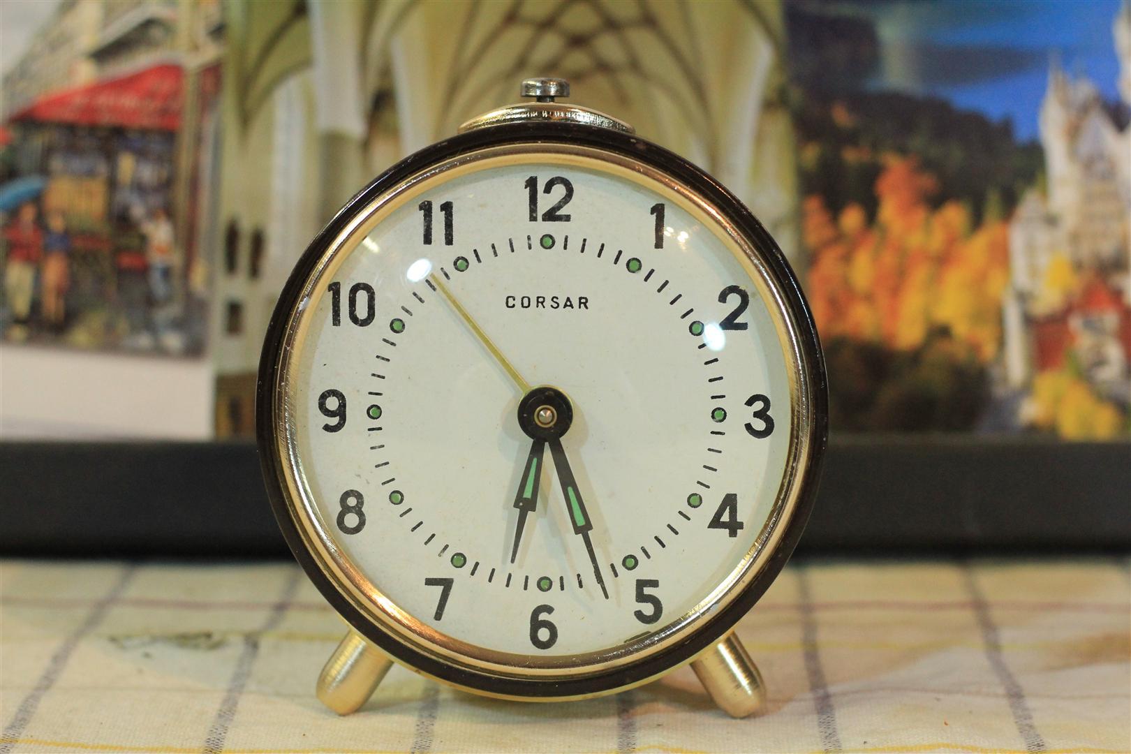 W0032 CORSAR Alarm Clock 60 years