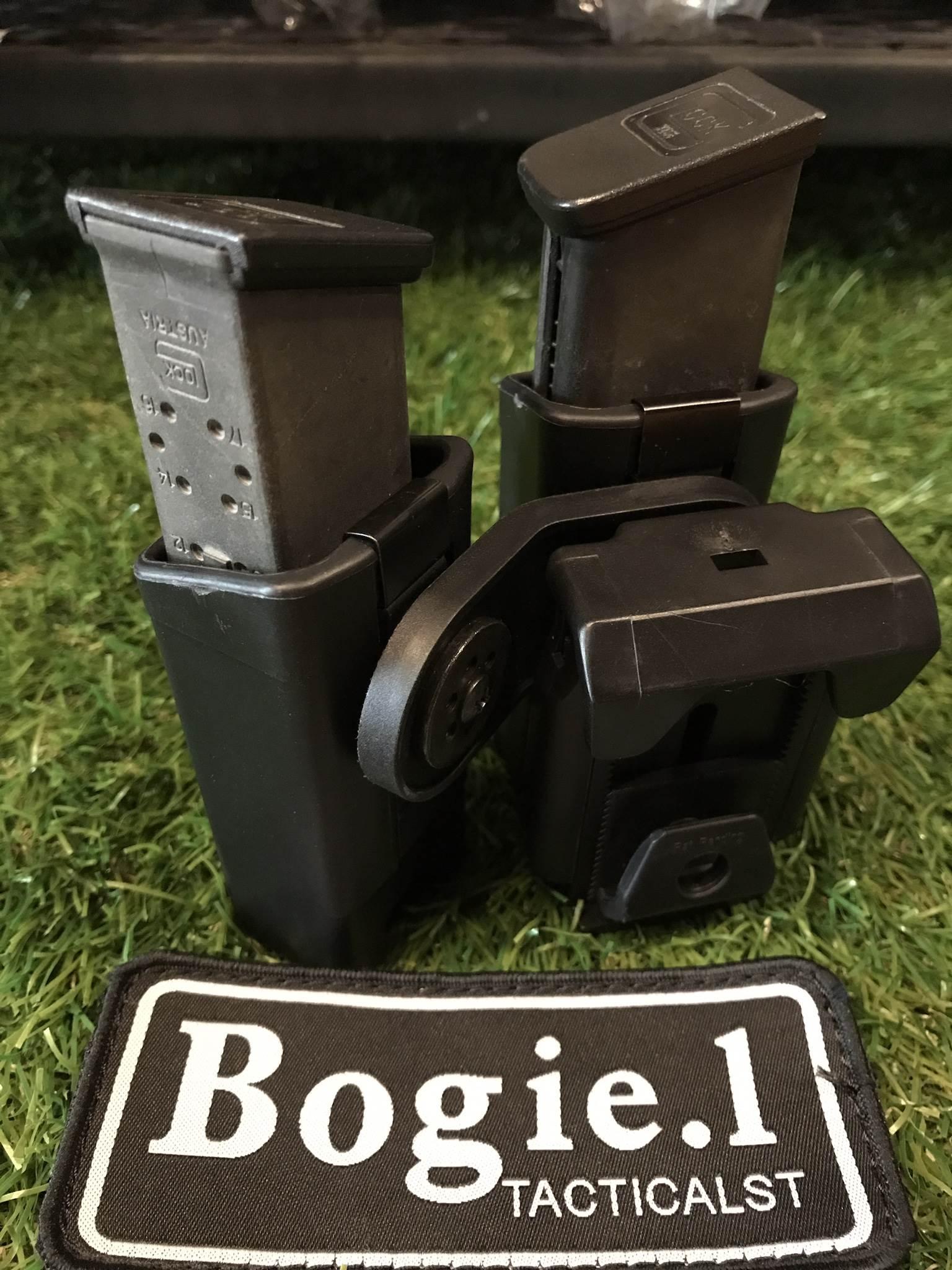 ซองแม็กคู่ไฟเบอร์ ทรงเฉียง Glock/1911/CZ