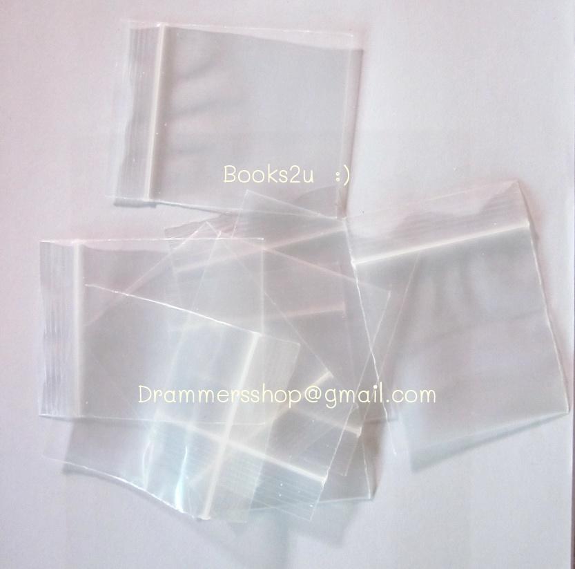 ถุงซิปใส ขนาด 6x8 cm (100 g.)