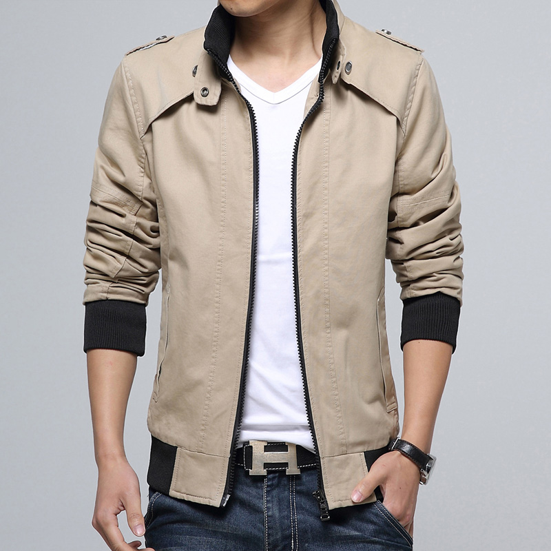 Pre Order เสื้อแจ็คเก็ตแฟชั่นเกาหลี แขนยาว คอปก ดีไซน์เท่ห์ มี 5 สี