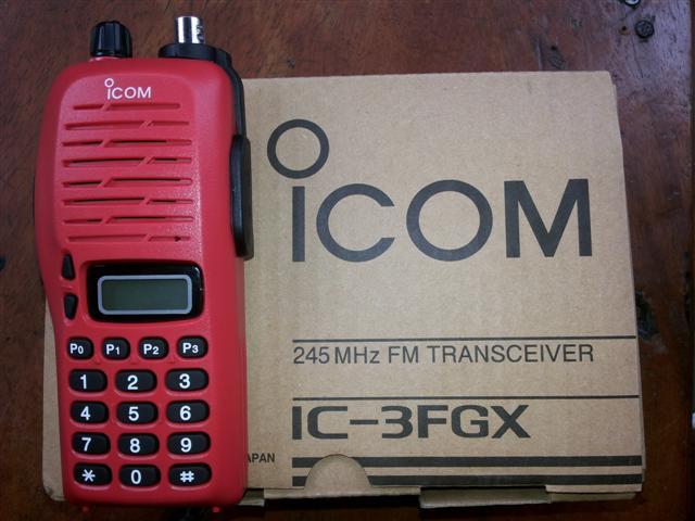 วิทยุ IC-3FGX แดง