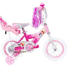 """จักรยาน 3 ล้อ 12"""" Huffy Disney Princess Girls' Bike with Doll Carrier"""