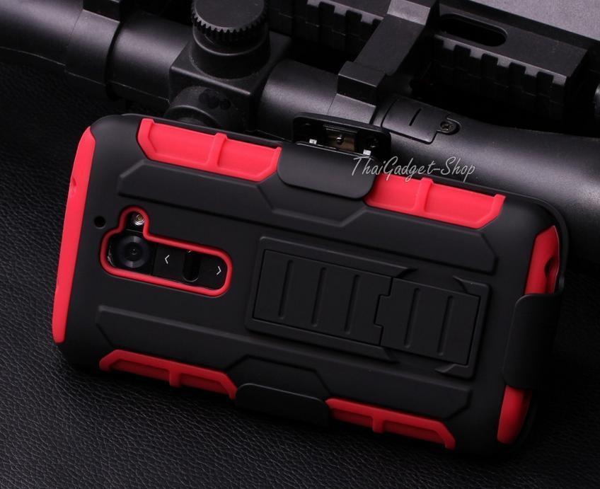 เคส LG G2 D802 ตรงรุ่น (Future Armor Impact Skin Holster Protector Swivel)