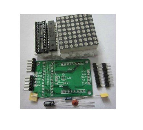 LED Dot Matrix Driver Module (MAX7219) 8x8 (DIY Kit) 32mmx32mm