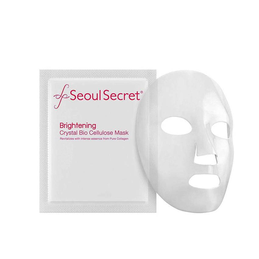 Seoul Secret Brightening Crystal Bio Cellulose Mask มาส์กหน้า