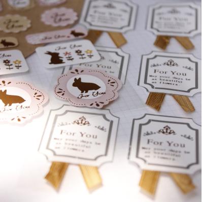 สติ๊กเกอร์ชุด : Super pretty delicate sticker