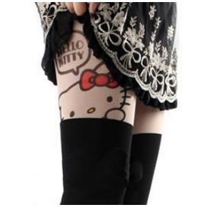 ถุงน่องลาย Hello Kitty งานคุณภาพสินค้าส่งออกญี่ปุ่น