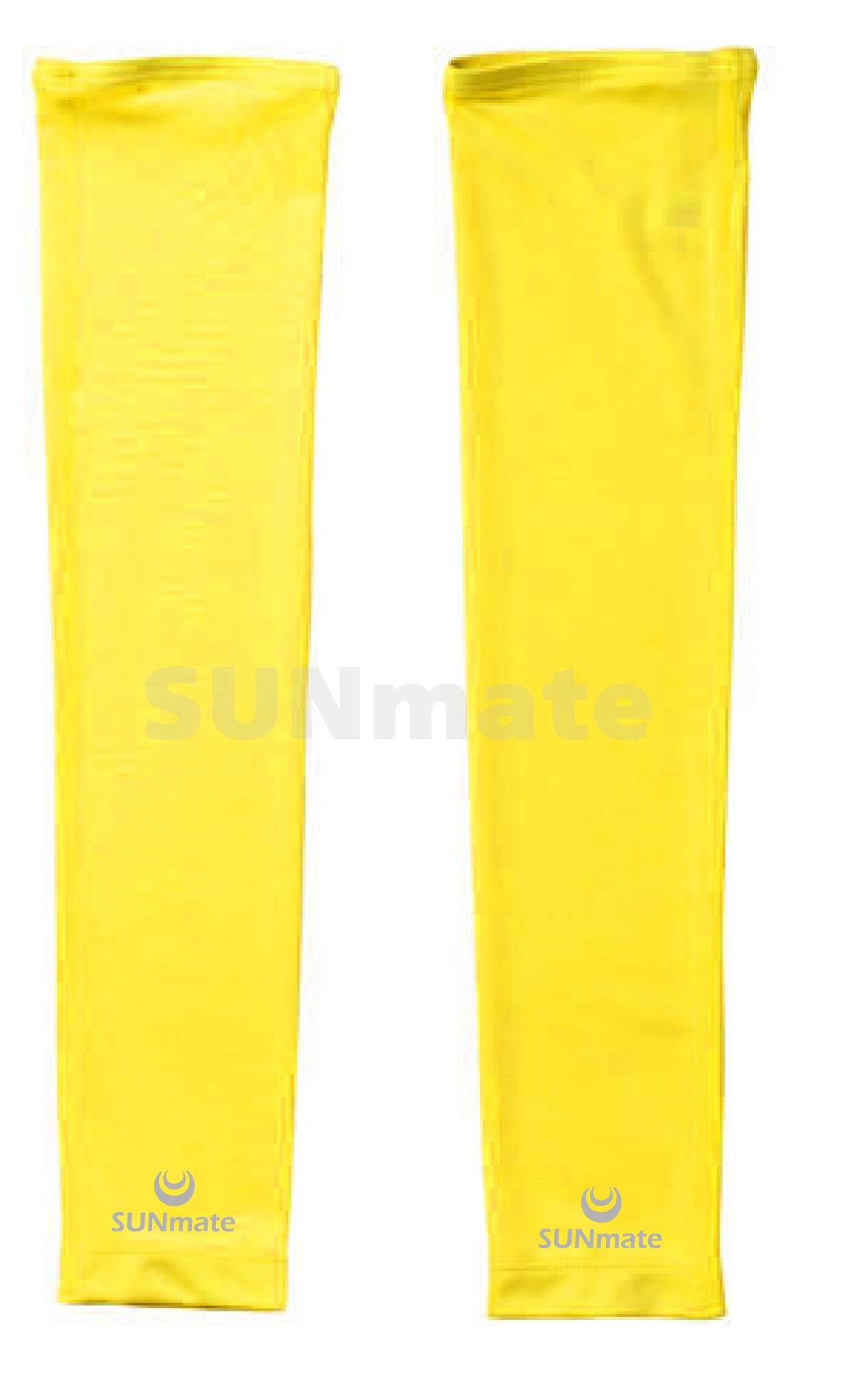 ปลอกแขนกันUV size XL : Yellow moon