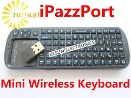 Mini Wireless Keyboard - iPazzPort for Raspberry Pi or Android TV