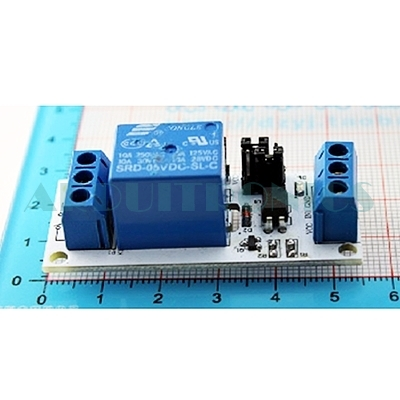 5V 1 Channel Relay with Optocoupler (white PCB)