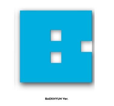EXO-CBX MINI ALBUM - HEY MAMA! หน้าปก แบคฮยอน + โปสเตอร์ พร้อมกระบอกโปสเตอร์