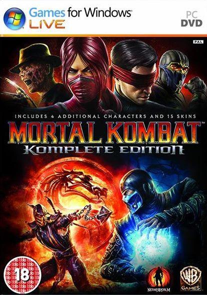Mortal Kombat Komplete Edition ( 3 DVD )
