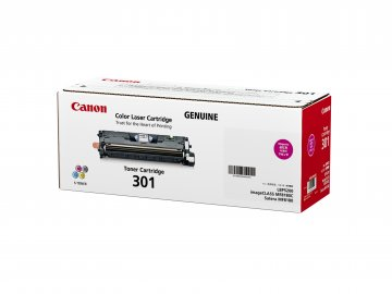 Canon Cartridge-301M ตลับหมึกโทนเนอร์ สีม่วงแดง Magenta Toner Original Cartridge