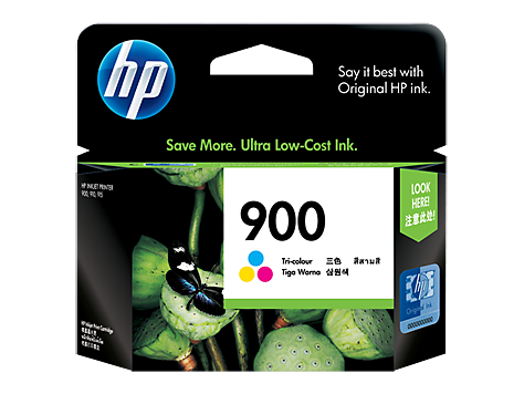 HP 900 ตลับหมึกอิงค์เจ็ท 3สี Tri-Color Original Ink Cartridge (CB315A)
