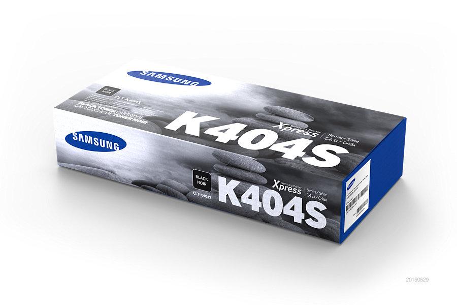 Samsung CLT-K404S ตลับหมึกโทนเนอร์ สีดำ ของแท้ Black Original Toner Cartridge (SU113A)