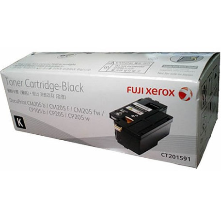 Fuji Xerox CT201591 ตลับหมึกโทนเนอร์ สีดำ ของแท้ Black Original Toner Cartridge