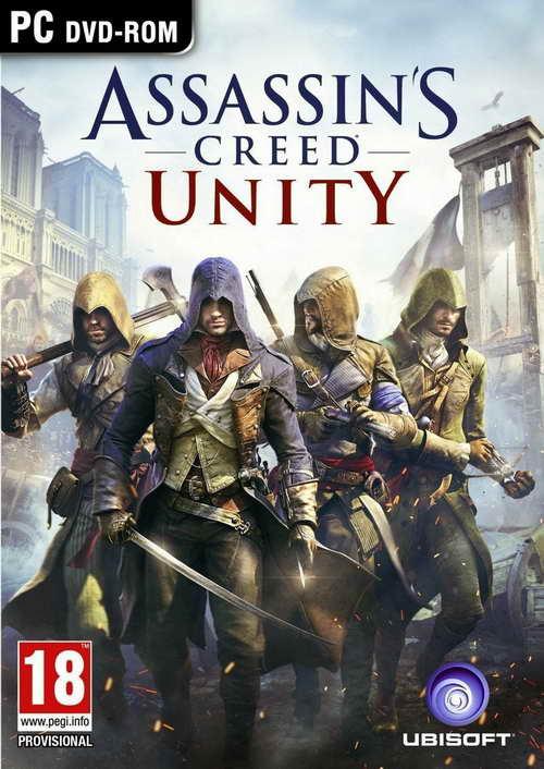 Assassins Creed Unity ( 10 DVD )