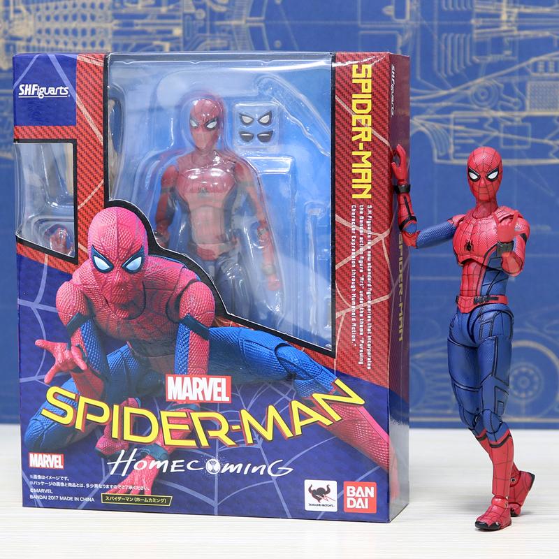 SH Figuarts - Spider-Man (Homecoming) (มีให้เลือก 5 แบบ)