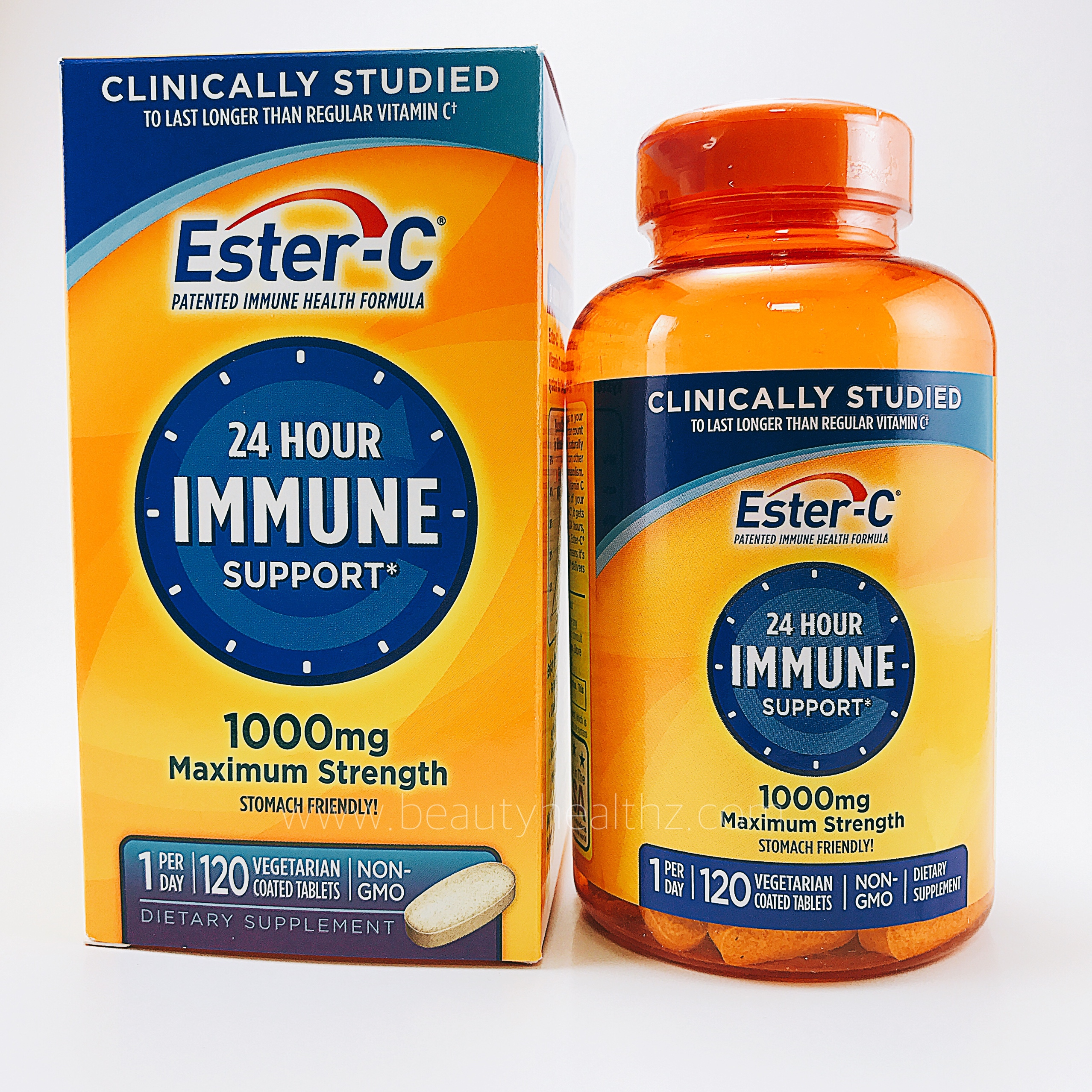 Nature's Bounty, Ester-C, 1000 mg, 120 Veggie Coated Tablets