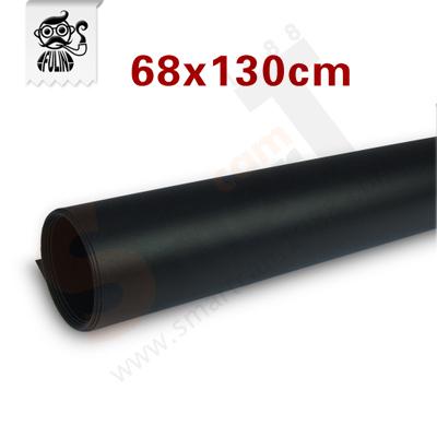 แผ่น PVC Background 68x130 cm สีดำ