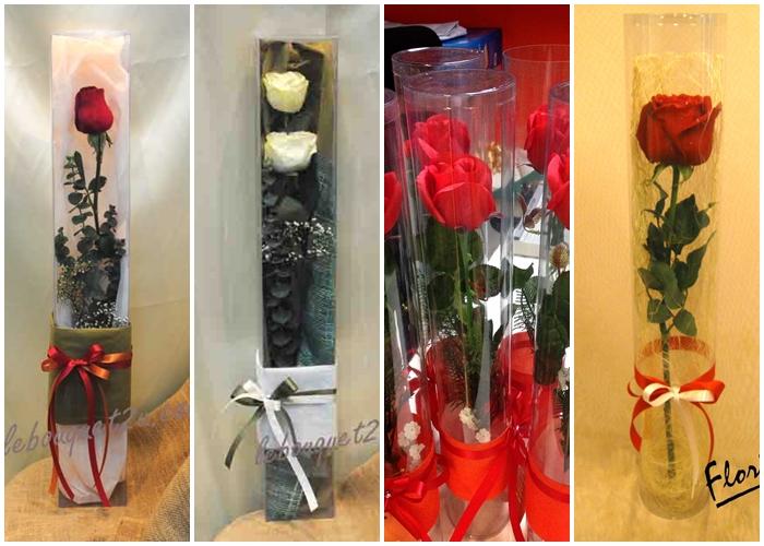 โรงงาน วัฒน์ พลาสติก ขาย กล่อง ใส่ ดอกไม้ แบบ ทรงกลม