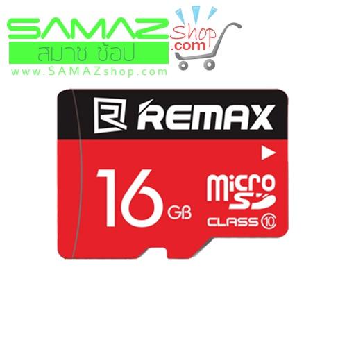 ราคาพิเศษ Remax เมมโมรี่การ์ด Micro SDHC Card 16 GB Class 10 รุ่น Speed Flash เร็ว แท้ มือถือ แท๊บเลต MP