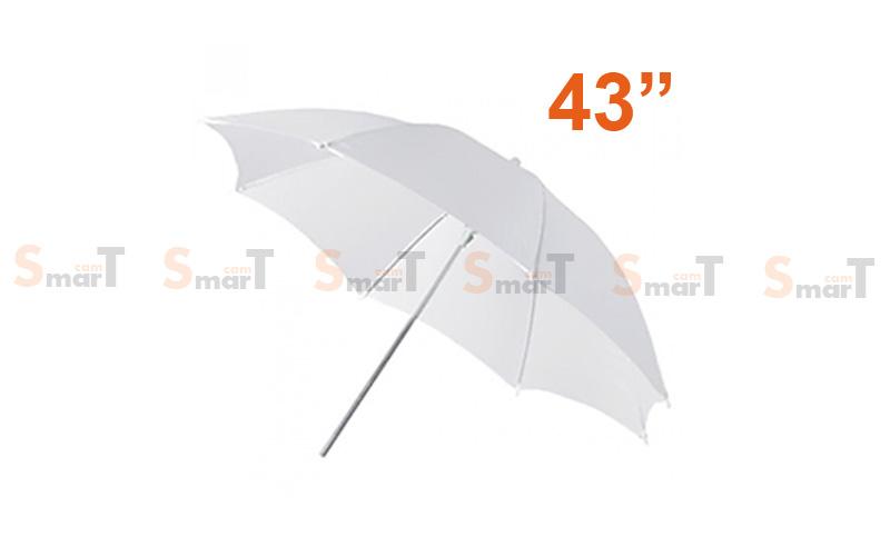 Umbrella ร่มทะลุ White Photo Studio Diffuser 110cm (43Inch)