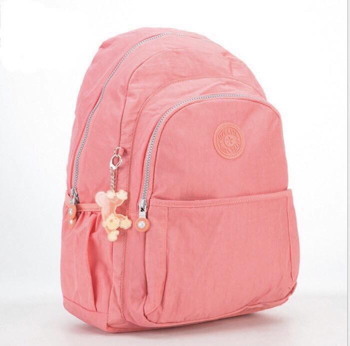 กระเป๋า kipling สะพายยาว สีชมพู