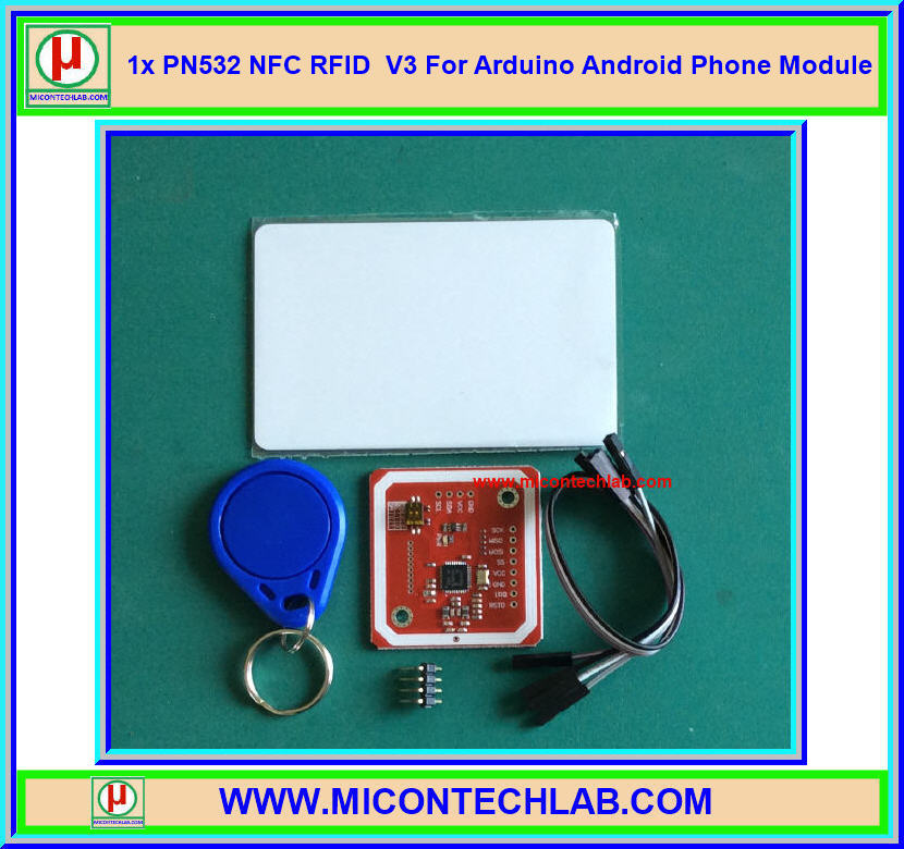 1x PN532 NFC RFID V3 For Arduino Android Phone Module