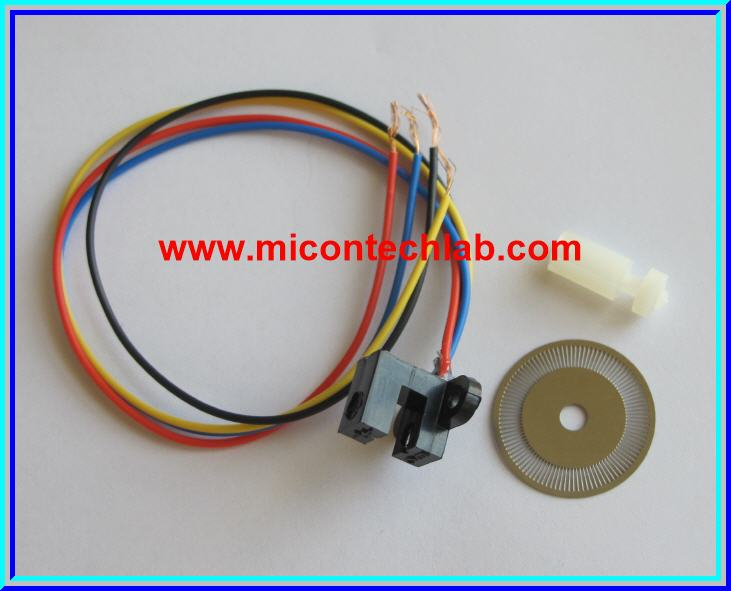 1x Photoelectric Speed Sensor Encoder Motor Speed Sensor Module